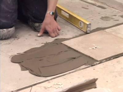 Укладка керамической плитки 2