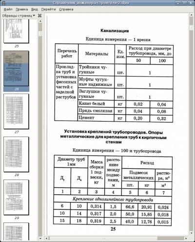 Справочник инженера-строителя-2. Специальные работы: расход материалов 2